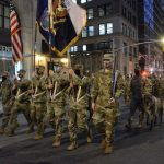 Infantry Leads Downsized St. Patrick's Day Parade