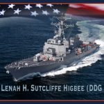 Navy Christens Guided-Missile Destroyer Lenah Sutcliffe Higbee