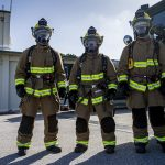 Firefighting and Rescue Marines Ready At A Moment's Notice