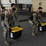 Air Force Springs Forward With New Aerial Porter Exoskeleton