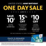 Exchange Celebrates Army's 246th Birthday with Savings