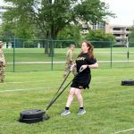 Army Reserve Soldiers Conduct Diagnostic ACFT