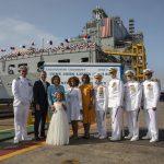Navy Christens the First Ship in the Fleet Oiler Program