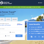 Veterans Can Now Use American Forces Travel Website