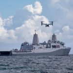 USS Arlington Arrives in Haiti to Support USAID