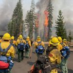 Cal Guard Actively Fights State's Wildfires