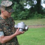 Marines 3D Print a Rocket Headcap For Mine-Clearing Missions