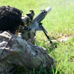 Soldiers Test New M110A1 Squad Designated Marksman Rifle