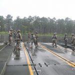 Army Reserve Makes a Splash With Bridge Creation
