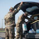 Oklahoma National Guard Distributes Supplies to Louisiana Citizens