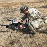 EOD Soldiers Field Test Unmanned Aerial System