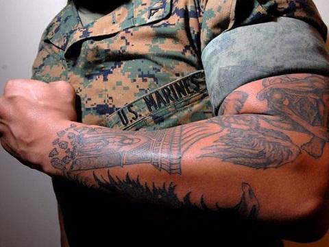 Marine Tattoo Policy