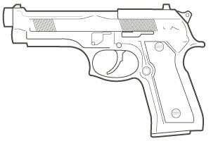 M-9 Pistol
