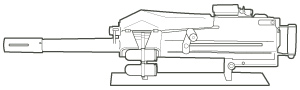 MK19-3 40mm Grenade Machine Gun