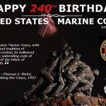 Marine Corps 240th Birthday