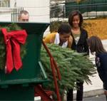 White House Christmas Tree Presentation, November 25th