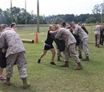 In Their Boots; Air Station Spouses Train like Marines