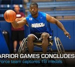 Air Force Captures 18 Medals at Warrior Games