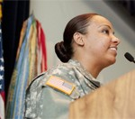NCO Speaks of Army as 'Home'