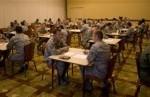 Airmen Participate in 'Speed-Mentoring' Event