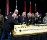 Hagel Salutes Army at 238th Birthday Celebration