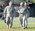 VCSA Visits Fort Stewart and Talks Army Future