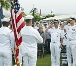 CNO, MCPON Visit Pearl Harbor on Navy's Birthday