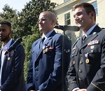 Carter Honors 3 Who Stopped Gunman on Paris-Bound Train
