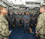 Chief of Naval Personnel Visits USS Theodore Roosevelt