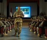 Dailey Hosts Town Hall in Wiesbaden, Germany