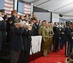 Soldiers and WWII Vets Honored at 'Fury' Movie Premiere