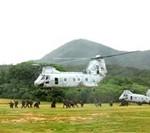 Helicopter Company Raids Urban Combat Facility
