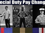 Special Duty Pay Restructure to Take Effect October 1