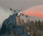 California National Guard Battles Several Wildfires