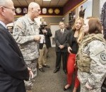 Army Chief of Staff Sees 'Bright Future' for Natick
