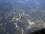 Recon Marines Take Flight During Parachute Training