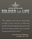 Army Highlights Soldier for Life Program for Successful Reintegration