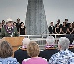 U.S., Japanese WWII Vets Honor Fallen with Blackened Canteen Spirits
