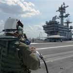 U.S. Launches Drone From Aircraft Carrier