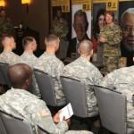 Cadet Marshals Receive Mentoring from Top Cadet Command Leadership