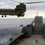 Soldiers, Marines Exercise Joint Capabilities Aboard Army Vessel
