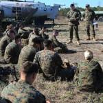 Marines Conduct Aircraft Training