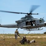 Helicopter Rope Suspension Technique Masters Teach Marines Fundamentals of Fast Roping