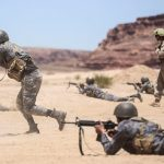 Marines and Jordanians Conduct Squad Attacks During Eager Lion 16