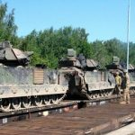 Tanks and Bradleys back in the Baltics, Central and Southeastern Europe