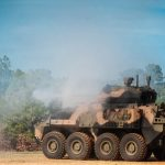Armored Vehicle Prototype Demonstrates Firepower at Fort Benning Firing Range
