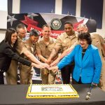CNO Visits NAVSUP on Navy's 241st Birthday
