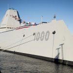 Naval Supply Systems Command Fleet Logistics Center Norfolk Supports USS Zumwalt Commissioning
