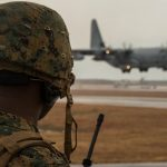 Marine Air Control Squadron 4 Marines Train to Employ Expeditionary Runways