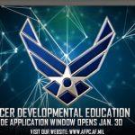 Officer Developmental Education Application Window Opens Jan. 30